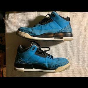 Jordan 3 Size 11 Powder Blue